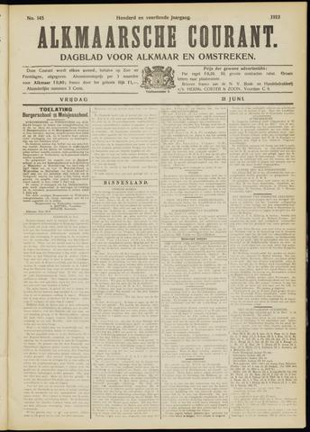 Alkmaarsche Courant 1912-06-21