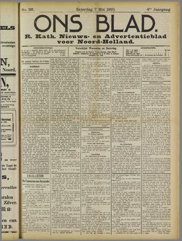 Ons Blad : katholiek nieuwsblad voor N-H 1910-05-07