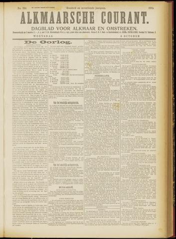 Alkmaarsche Courant 1915-10-06