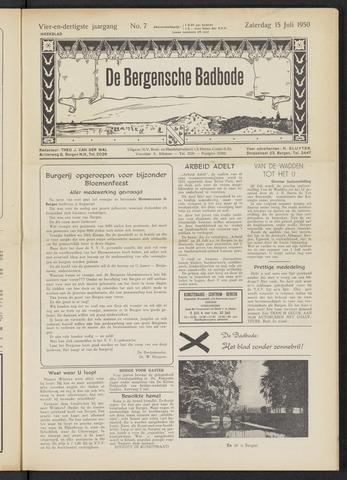 Bergensche bad-, duin- en boschbode 1950-07-15