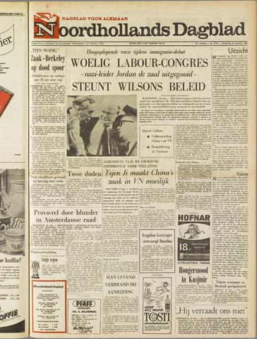 Noordhollands Dagblad : dagblad voor Alkmaar en omgeving 1965-09-30