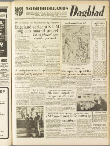 Noordhollands Dagblad : dagblad voor Alkmaar en omgeving 1959-01-24