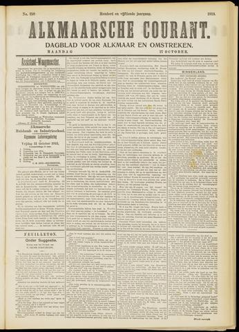 Alkmaarsche Courant 1913-10-27
