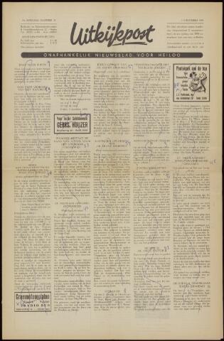 Uitkijkpost : nieuwsblad voor Heiloo e.o. 1958-12-05
