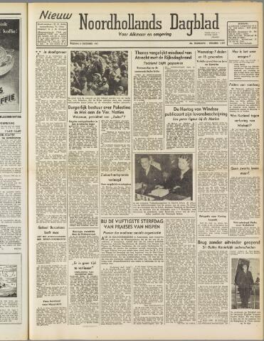 Nieuw Noordhollandsch Dagblad : voor Alkmaar en omgeving 1947-12-05