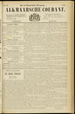 Alkmaarsche Courant 1894-07-27