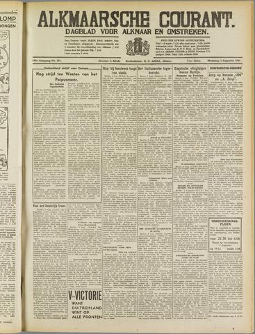 Alkmaarsche Courant 1941-08-04