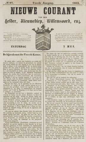 Nieuwe Courant van Den Helder 1862-05-03