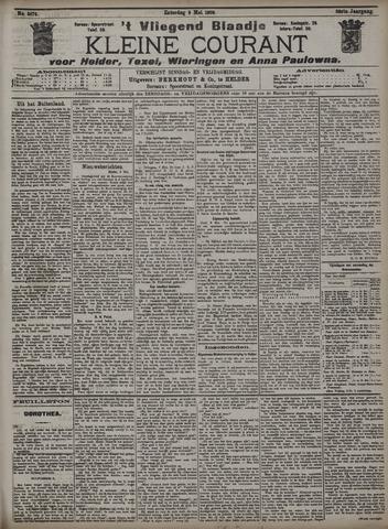 Vliegend blaadje : nieuws- en advertentiebode voor Den Helder 1908-05-09