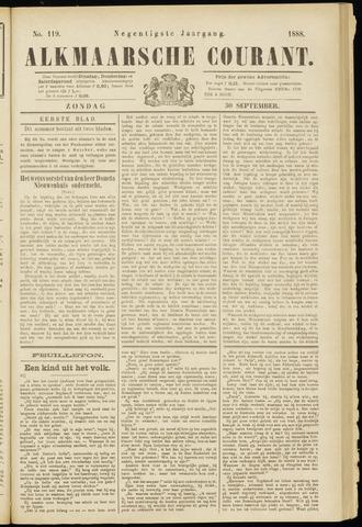 Alkmaarsche Courant 1888-09-30