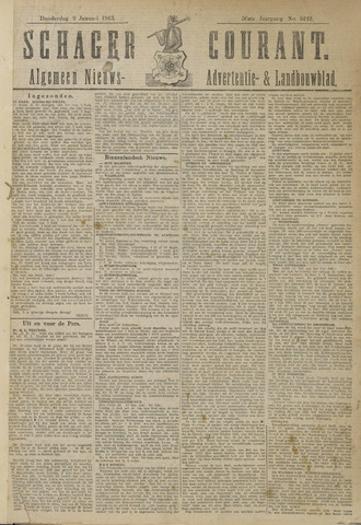 Schager Courant 1913