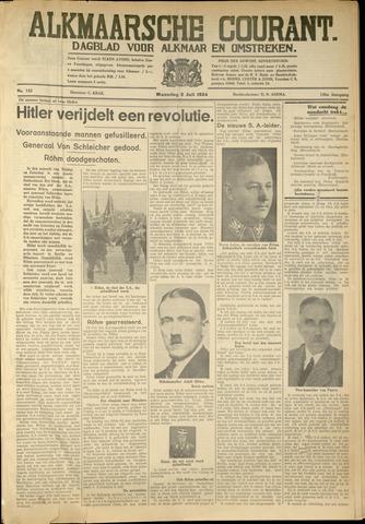 Alkmaarsche Courant 1934-07-02