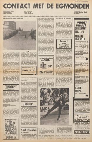 Contact met de Egmonden 1971-03-03