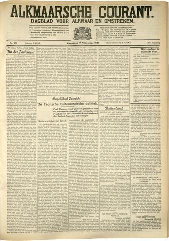 Alkmaarsche Courant 1933-11-15
