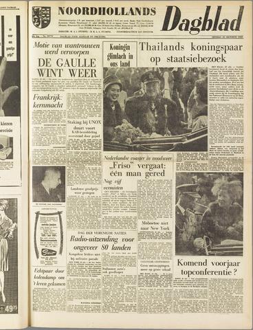 Noordhollands Dagblad : dagblad voor Alkmaar en omgeving 1960-10-25