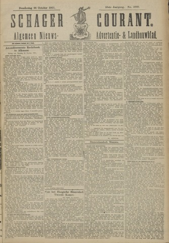 Schager Courant 1911-10-26