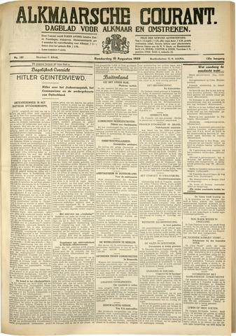 Alkmaarsche Courant 1933-08-10