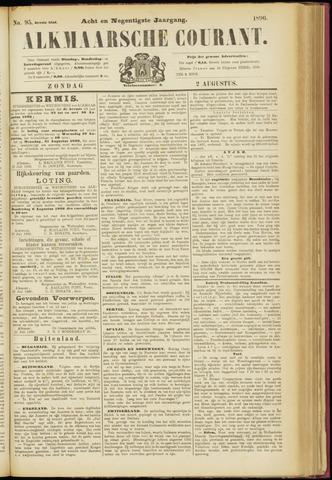 Alkmaarsche Courant 1896-08-02