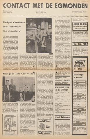 Contact met de Egmonden 1971-06-23