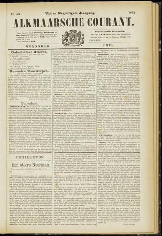 Alkmaarsche Courant 1893-05-03