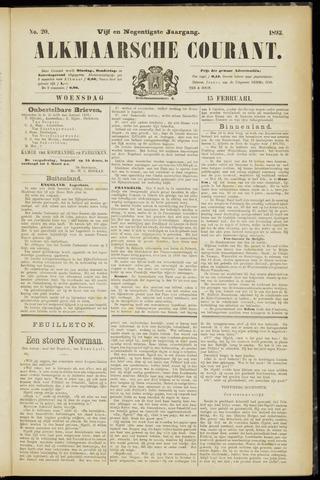 Alkmaarsche Courant 1893-02-15