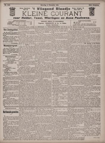 Vliegend blaadje : nieuws- en advertentiebode voor Den Helder 1904-12-10