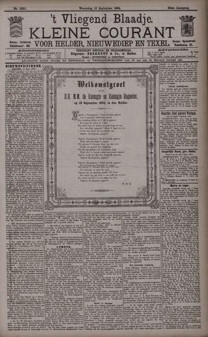 Vliegend blaadje : nieuws- en advertentiebode voor Den Helder 1894-09-12