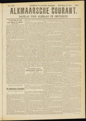 Alkmaarsche Courant 1905-11-18