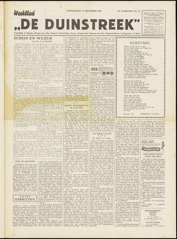 De Duinstreek 1954-12-23