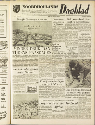 Noordhollands Dagblad : dagblad voor Alkmaar en omgeving 1960-06-07