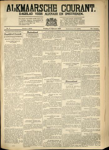 Alkmaarsche Courant 1933-02-17