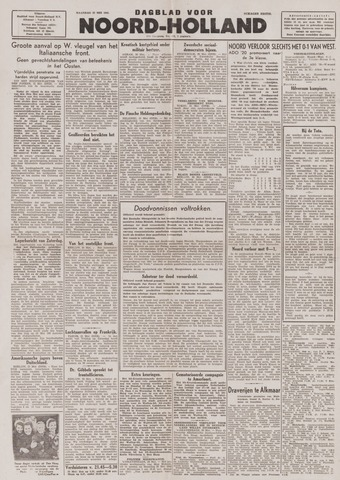 Dagblad Noord-Holland, Schager editie 1944-05-22