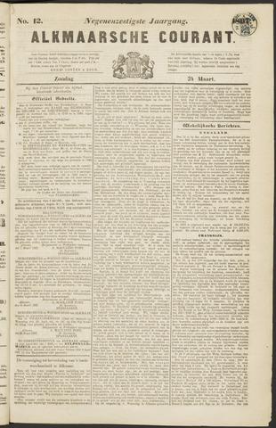 Alkmaarsche Courant 1867-03-24