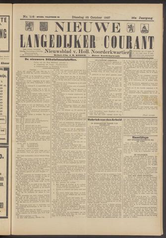 Nieuwe Langedijker Courant 1927-10-25