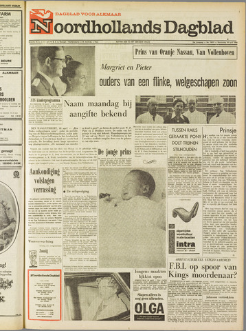 Noordhollands Dagblad : dagblad voor Alkmaar en omgeving 1968-04-18