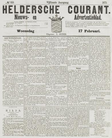 Heldersche Courant 1875-02-17