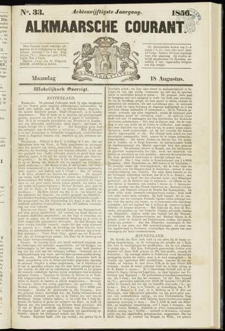 Alkmaarsche Courant 1856-08-18