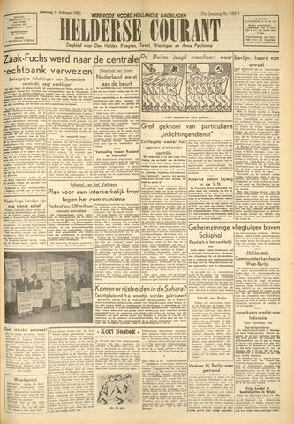 Heldersche Courant 1950-02-11