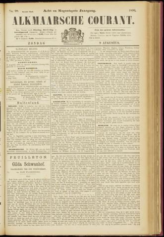Alkmaarsche Courant 1896-08-09