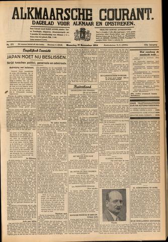 Alkmaarsche Courant 1934-11-19