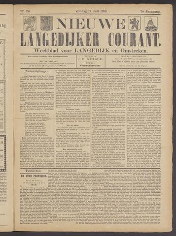 Nieuwe Langedijker Courant 1898-07-17