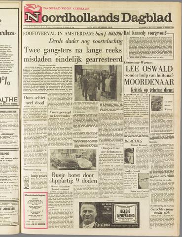Noordhollands Dagblad : dagblad voor Alkmaar en omgeving 1964-09-28