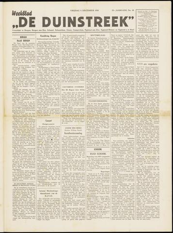 De Duinstreek 1950-12-08