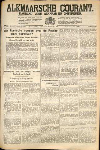 Alkmaarsche Courant 1939-11-30