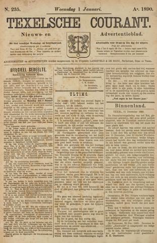 Texelsche Courant 1890