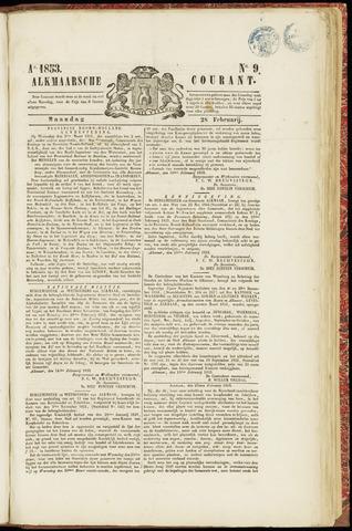 Alkmaarsche Courant 1853-02-28