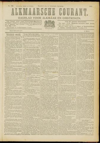 Alkmaarsche Courant 1919-05-01