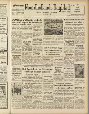 Nieuw Noordhollandsch Dagblad : voor Alkmaar en omgeving 1952-07-07