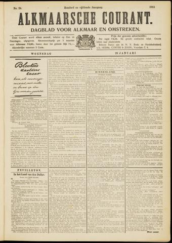 Alkmaarsche Courant 1913-01-29