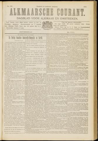 Alkmaarsche Courant 1914-07-30